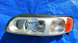 04-07 Volvo S60R V70R OEM LEFT SIDE XENON HEADLIGHT BALLAST BULB CLEAN GLASS