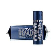 Emporio Armani Remix For Him By Giorgio Armani 100ml EDT Mens Fragrance