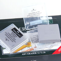 2pcs Soft Faber-Castell Drawing Rubber Eraser Pencils Graphic Sketch 7220