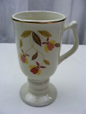 "Vintage Hall Autumn Leaf Jewel T 1966 Irish Coffee Mug 6 1/2 "" tall *1"