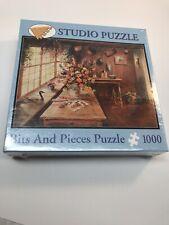 Bits And Pieces 500 Piece Studio Puzzle Flowers