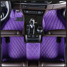 6 Colours leather Car Floor Mats Waterproof Mat For Chevrolet Camaro - 2010-2015