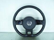 198787 Lenkrad VW Up (121, 122, BL1, BL2) 1S0419091B Leder Titanschwarz