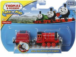 NEW Thomas & Friends Take n play Mike the Miniature Engine Toy Die Cast Metal