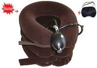 Cervical Neck Traction Device,Inflatable,Shoulder-Neck Pain Relief, Brace,Collar