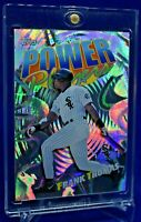 FRANK THOMAS TOPPS POWER PLAYERS SP RARE PRISM RAINBOW REFRACTOR WHITE SOX