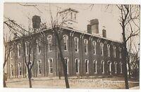 RPPC High School NORTHUMBERLAND PA Real Photo Pennsylvania 1907 Postcard