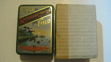 Remington Playing Cards W/ Collectable Tin & Slip Cover