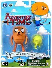 """Aventura tiempo Jake con troncos 3"""" Figura Set-Nuevo en la acción"""
