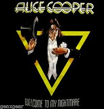 ALICE COOPER cd cv WELCOME TO MY NIGHTMARE Official SHIRT SMALL new