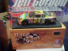 2000 JEFF GORDON #24 DUPONT 24K GOLD 1/24 ACTION RACE FANS CAR 1 OF 2000 MADE