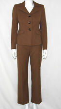 Le Suit New Overlapping Wide Notch Collar Jacket & Pants Pantsuit Petite 2