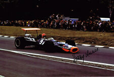 BOBBY UNSER 3 Time Indianapolis 500 Winner SIGNED Racing Legend 12x8 Photo AFTAL