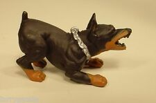 Doberman Attack Dog Miniature 1/24 Scale G Scale Diorama Accessory Item