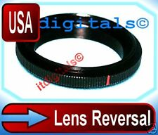 For Pentax Lens Reversal Adapter Metal Macro 52mm Ring K US Seller Fast Ship
