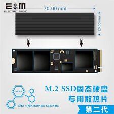 SSD M.2 Cooling Fin Silica Gel Air Heatsink Radiation Dissipate NGFF NVME Laptop