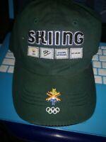 Olympic Salt Lake City XIX 2002 Winter Games Vintage Skiing baseball cap hat