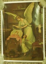 Art Painting Poster Print Guardian Angels Watching Over Baby Germany