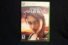 Lara Croft: Tomb Raider - Legend (Microsoft Xbox 360, 2006) Complete