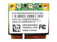 Qualcomm Atheros AR9382 AR5BHB116 WLAN WIFI Wireless Card 802.11 a b g n Half Mi
