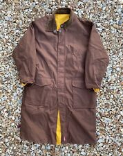 Marlboro Unlimited Gear Reversible Rain Trench Coat Men's Large XL Duster Jacket