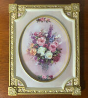 Lena Liu's Cameo of Roses Limited Art Collector Print Plate Bradford Exchange