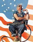 Print - Rosie the Riveter by  Norman Rockwell