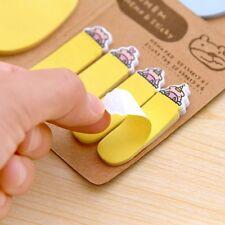Cartoon Animal Rabbit Sticker Bookmark Marker Memo Index Tab Sticky Notes