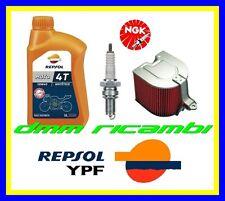 Kit Tagliando HONDA CN 250 04>05 Filtro Aria Candela Olio REPSOL 2004 2005