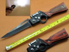 8.5cm Klinge Taktische AK47 Messer Falttasche Sharp Rettungssäbel mit LED GIft