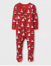 bfaf0dc333 NWT-Target Wondershop Holiday Infant 1 pc Pajamas-3-6 Months-Festive