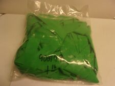 """1-LB Flour Green Fine Round Living Rubber 1"""" Wide 40 strands Made in U.S.A."""