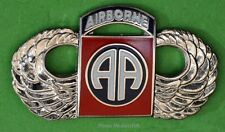 "82nd Airborne Division Army Paratrooper Jump Wing ""All American Division"""
