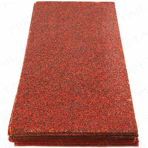 MIXED GRIT SANDING SHEETS Large Pack 30x 40 60 80 120 93mm x 230mm Sandpaper UK