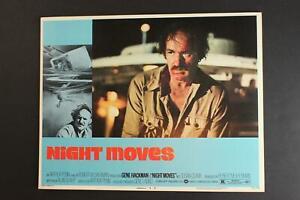 LOT: SEVEN 1975 NIGHT MOVES MOVIE LOBBY CARDS~GENE HACKMAN~SUSAN CLARK~