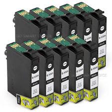 10x NON-OEM INK Cartridge for Epson T133 Black NX130 NX125 NX230 NX420 430 WF320