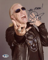 DEE SNIDER SIGNED AUTOGRAPHED 8x10 PHOTO TWISTED SISTER LEGEND RARE BECKETT BAS
