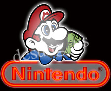 "New Nintendo Game Room Neon Sign 24"" with HD Vivid Printing Technology"