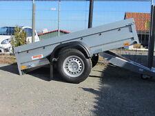 HK  PKW-Anhänger 1.600 kg, 1-achser gebremst, Ladefläche ankippbar 450 mm Bordwä