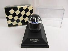 Minichamps Helmet Collection 1:8 Scale Replica Damon Hill Formula 1 1997 F1  2