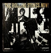 The Rolling Stones, Now! LP near mint vinyl mono first pressing in shrink