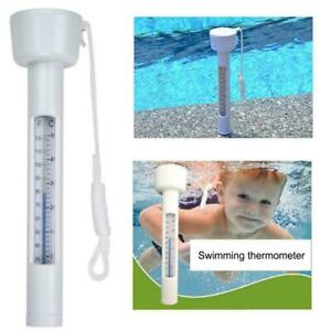 Poolthermometer Schwimmbad Thermometer Wasserthermometer Schwimmende C9Z5 FAST
