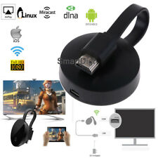 AU HD TV Screen Mirroring WiFi Display Dongle HDMI for Google Chromecast Netflix