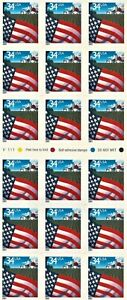 2001 Flag Over Farm 34¢ Booklet 18 Stamps MNH Scott #3495a