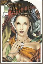 ARIA PREVIEW ISSUE #1 IMAGE 11/98 LINEN EDITION GOLD FOIL VARIANT COVER NM