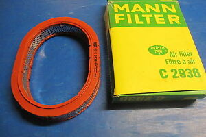 Air Filter Mann Filter For: Fiat : Regata, Strada, Tipo