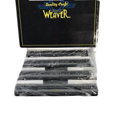 Weaver Models Scale Aluminum 5-Car Passenger Train Set Wabash with box