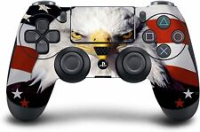 (USA Eagle) PS4 Modded Wireless Controller Exclusive Custom Design w/Rapid Fire