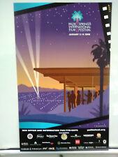 RARE! Original 2008 PALM SPRINGS INTERNATIONAL FILM FESTIVAL POSTER 15X24 modern