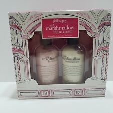 Philosophy Pink Marshmallow Buttercream Body Lotion & Shampoo Shower Gel 240 ml